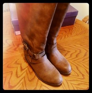 Madden girl corporel cognac Fab boots
